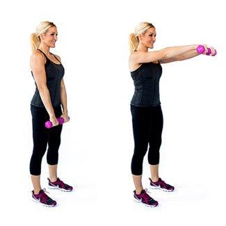 front deltoid raise